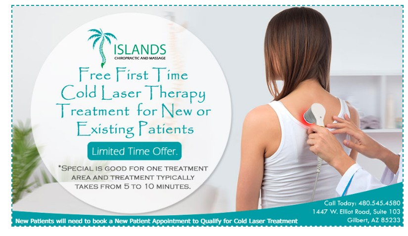 Islands Chiropractic Cold Laser Offer
